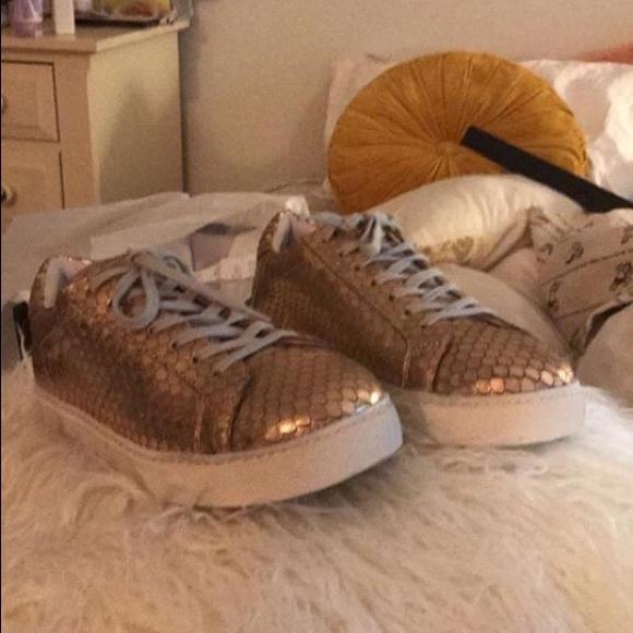 52fc17eaab Steve Madden Peyton Sneaker Rose Gold